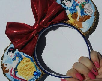 Snow White disney ears headband