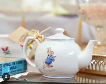 Peter Rabbit Teapot Candle
