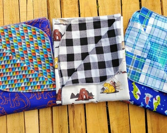 Boys & girls double layer blankets