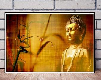 Buddha art | Etsy