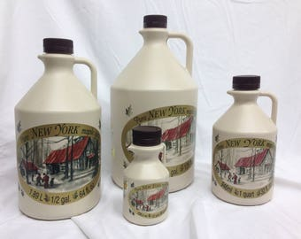 Pure NY Maple Syrup in Jugs