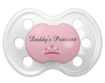 "DD/lg ""Daddy's Princess"" Pacifier"