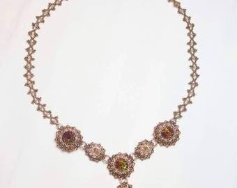 Exquisite Swarovski Crystal Necklace