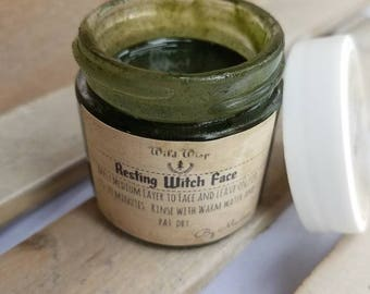 Organic face mask; Kelp mask; Organic skin care; Vegan skin care; Vegan face mask; Resting Witch Face