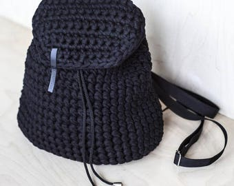 Backpack on puffs