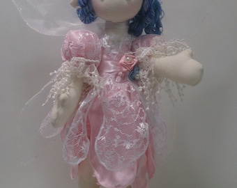 Fairy cloth doll, russian doll, doll with mascot, toy, diaper doll,