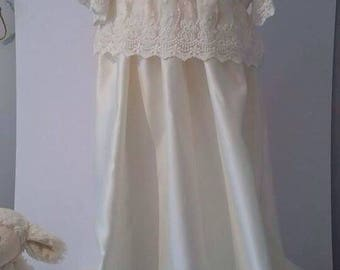 6-9 month christening gown
