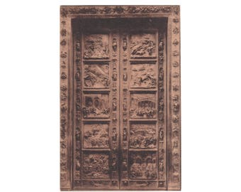 ITALY: Exquisite Bronze doors of the Florence Baptistry by Lorenzo Ghiberti