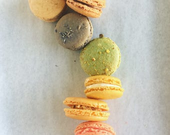 Half Dozen French Macaron