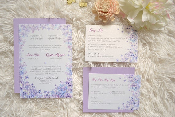 Luxury wedding invitation suppliers philippines wedding for Lavender avenue wedding invitations