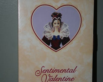 Sentimental Valentine Barbie  Hallmark Special Edition