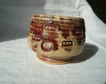 Ceramic tea cup, Teabowl, Japanese teabowl, Chawan Teabowl, Matcha chawan, Handmade