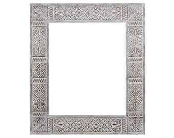 Ethnic frame for mirror Persia Brown 50X60