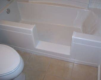 Custom STANDARD - Bathtub to Walk-In Shower Conversion Kit