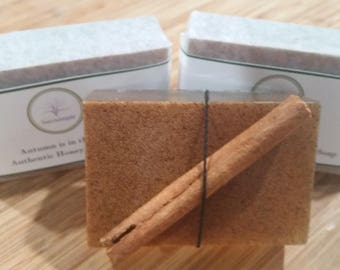 Autumn is in the Air - Authentic Honey Walnut Soap