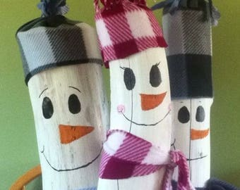 Christmas Log SnowFriends