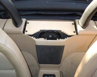 "Custom 6.5"" shallow-mount subwoofer enclosure for BMW Z3 Roadster"