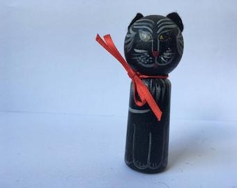 Cat Käthe finger doll