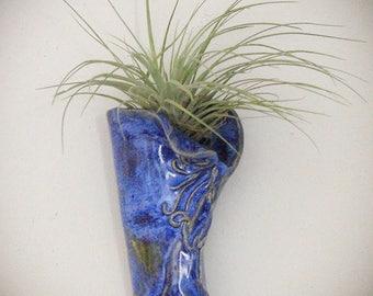 Wall Pocket - Vase - Wall Art - Handmade Pottery