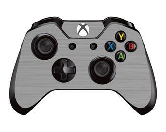 Xbox One Controller Skin - Gunmetal Grey Brushed Metal