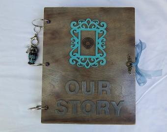 Our Story Junk Journal Scrap Book Album