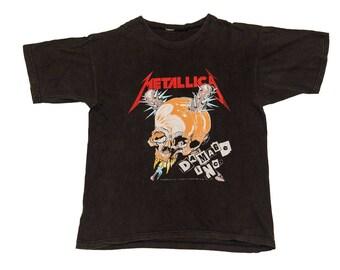 """Vintage 1994 Metallica """"Damage Inc"""" T-Shirt (Large)"""