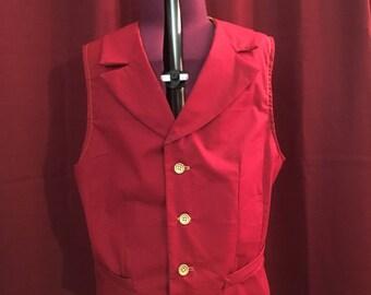 Hogwarts House Vest