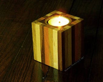 Tealight holder.