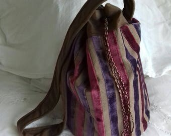 Handmade Barrel Bag - made to order