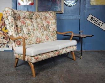 Rare Vintage Mid Century 1950s Howard Keith Bambino Sofa