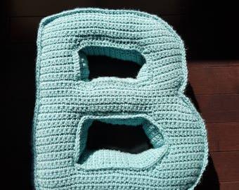 Alphabet pillows