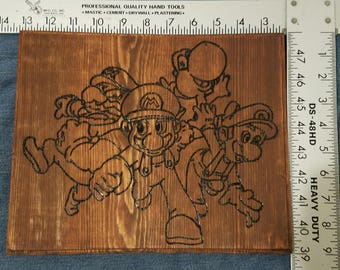 Nintendo Super Mario Bros Wall Hanging