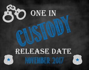 One in Custody, Police Officer Pregnancy Announcement, Police Announcement