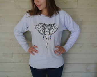 Sweatshirt woman Elephant
