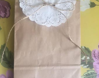 Baby shower favour bag