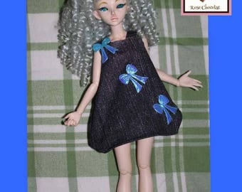 Minifee MSD girl with bows dress