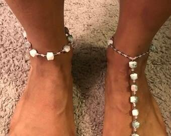 Stone Barefoot Sandal
