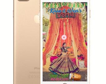 Sangeet/Dholki/Kurmai Punjabi Wedding SnapChat Filter