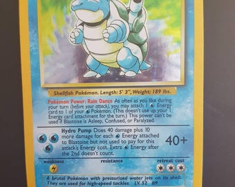 Rare 1995 Pokemon card