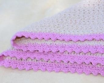 Handmade WoolalaBaby blanket