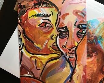 Black Love 4x6 Print (Matte)