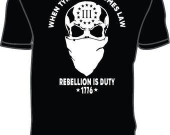 Men's REBELLION T-shirt