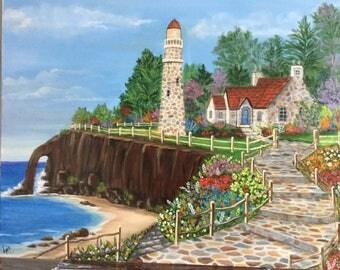 Cobble light house
