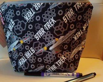 Star Trek Medium Zipper Bag