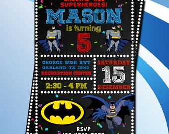 Batman,Batman Invitation,Batman Birthday,Batman Birthday Invitation,Batman Party,Batman Printables,Batman Invite,Superhero Invitation,Invite