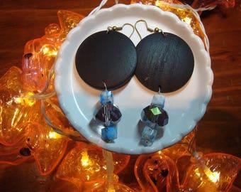 Beaded Boho Hippy Dangle earrings
