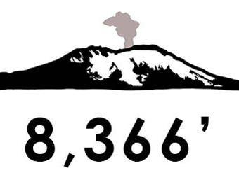 Mt. Saint Helens Climb Bumper Sticker