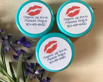 Sugar Lip Scrub Organic 50 pieces