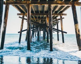 Under The Pier - fine art photography print