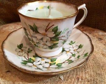 Royal Albert Teacup Candle